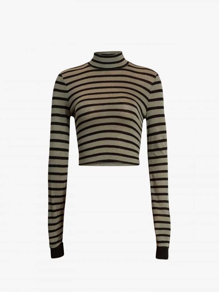 HIGH NECK STRIPES