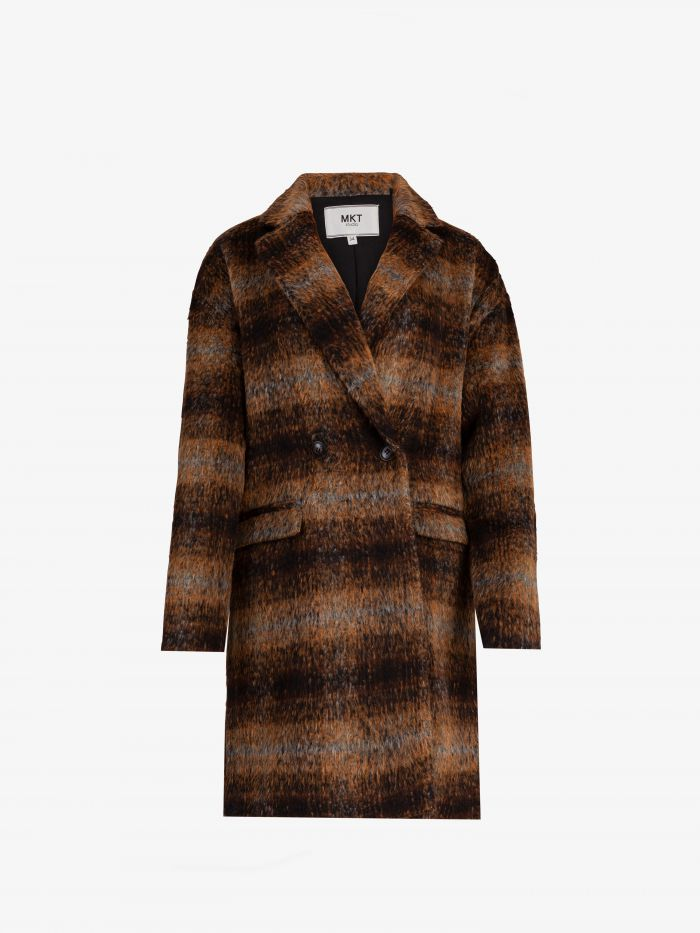 TAYLOR MADE CHECK COAT