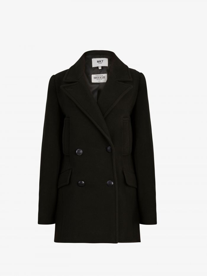 THE BUTTONED COAT