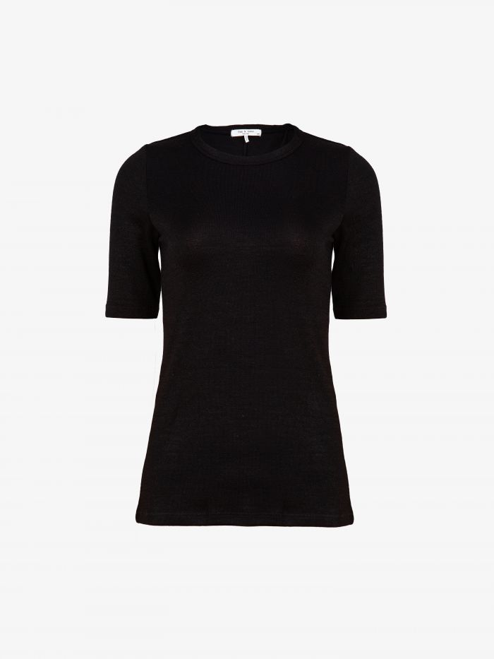 THE KNIT SLIM TEE