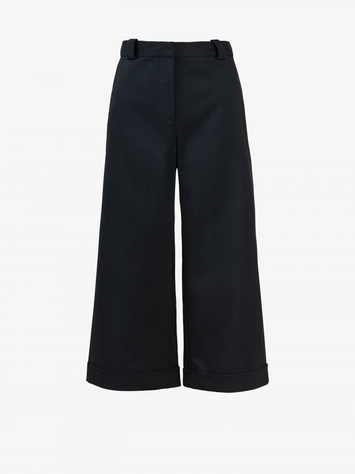 WIDE OVER THE KNEE TROUSERS