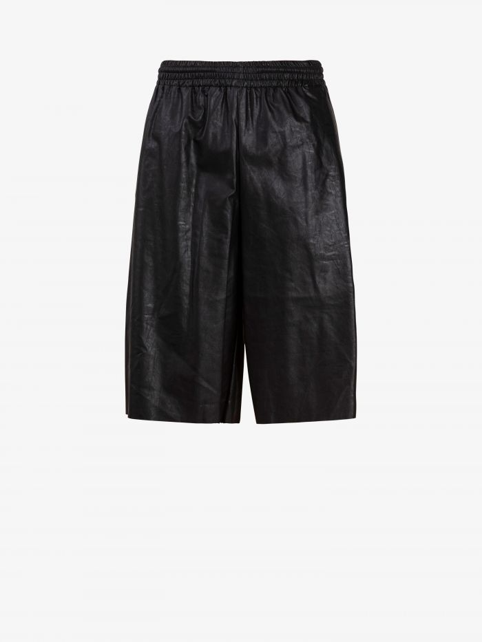 FAUX LAETHER CULOTTES