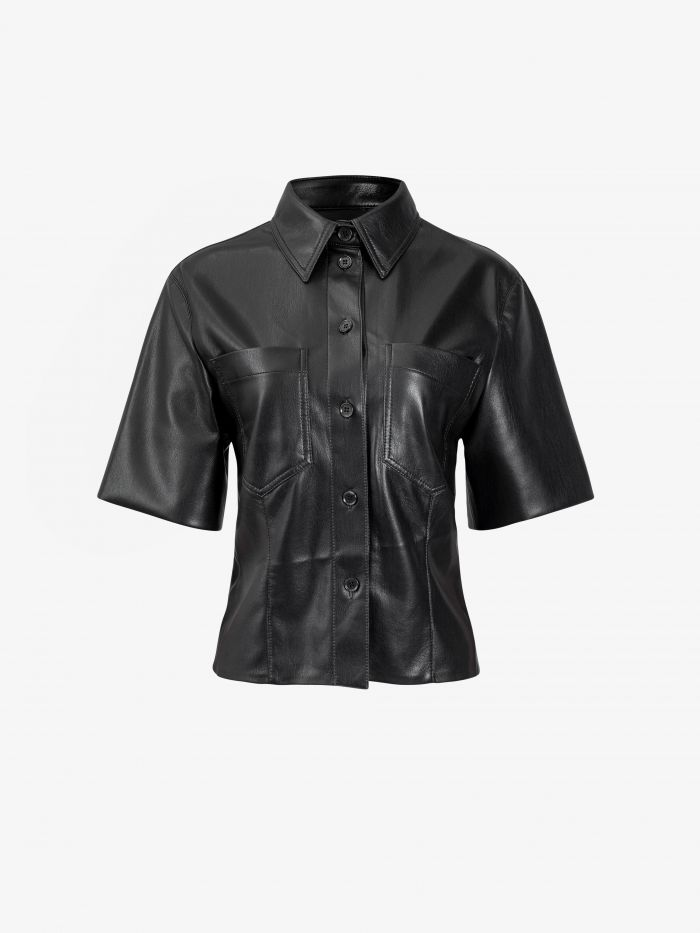 STRONG SHOULDER FITTED SHIRT