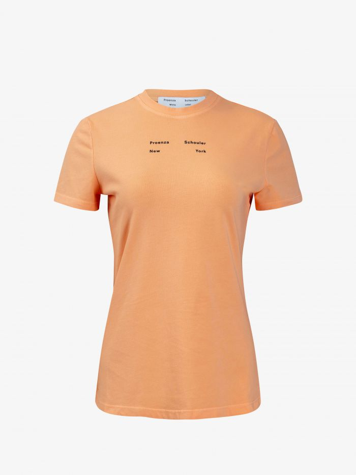 SOLID STRETCH JERSEY T-SHIRT