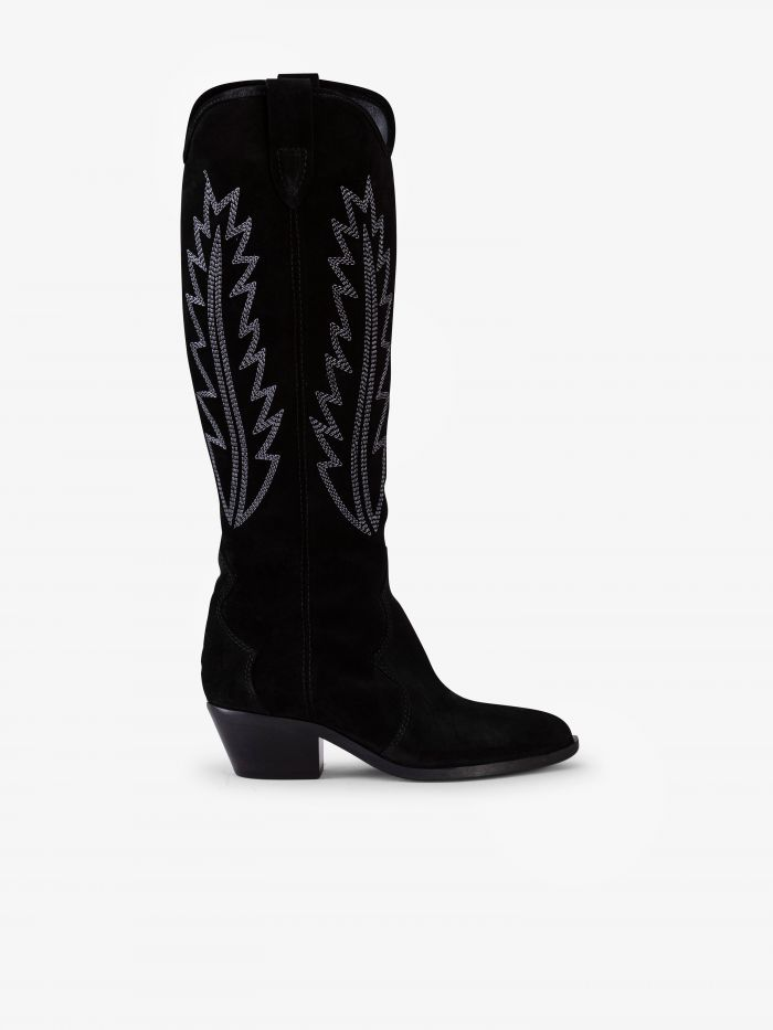 FLARE HIGH BOOTS