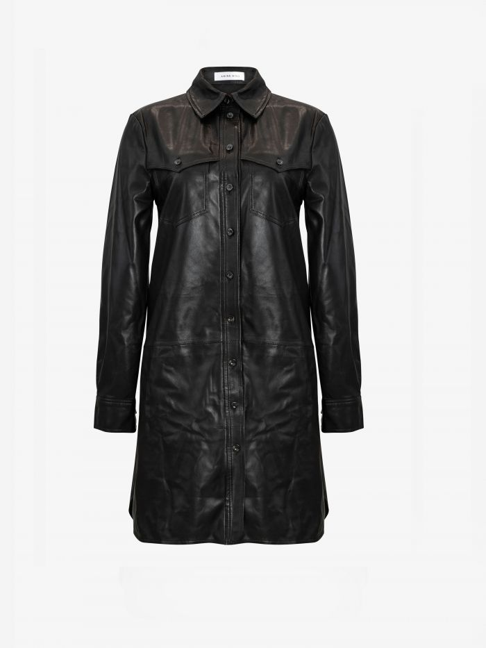 IVY LEATHER DRESS